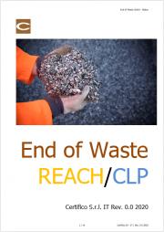 End of Waste e REACH / CLP