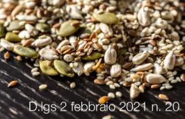 Decreto legislativo 2 febbraio 2021 n. 20