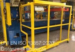 UNI EN ISO 13857:2020   Distanze di sicurezza