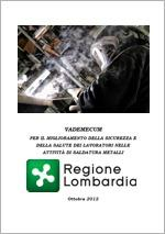 Vademecum Attività di saldatura - Regione Lombardia
