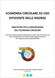 Indicatori per la misurazione dell'economia circolare