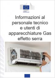Informazioni personale tecnico e utenti apparecchiature gas effetto serra