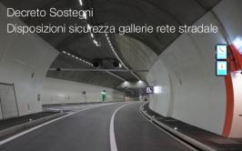 Decreto Sostegni | Disposizioni sicurezza gallerie della rete stradale