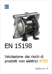 Valutazione dei rischi Prodotti non elettrici in ATEX: EN 15198