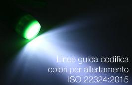 UNI ISO 22324:2019 | Linee guida codifica colori per allertamento