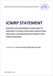 Guidance compliance of exposure to pulsed and complex non-sinusoidal waveforms below 100 kHz