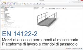 EN 14122-2 Mezzi accesso permanenti macchinario P. 2: Piattaforme e corridoi - File CEM