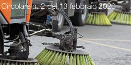 Circolare Albo Nazionale Gestori Ambientali n. 2 del 13 febbraio 2020