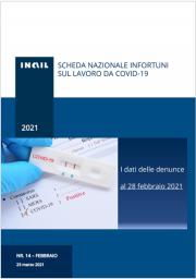 Covid-19 | Contagi sul lavoro denunciati all'INAIL: Schede regionali 28 Febbraio 2021