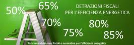 Detrazioni fiscali per l'efficienza energetica