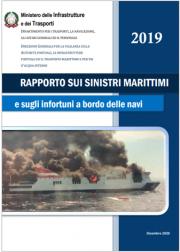 Rapporto sui sinistri marittimi - Anno 2019