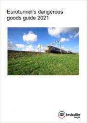 Eurotunnels 2021 ADR Dangerous Goods Regulated