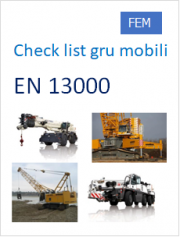 EN 13000 Gru Mobili Check list - Non Conformità di marchi, documenti, caratteristiche