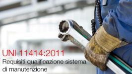 Linee guida per la qualificazione del sistema di manutenzione