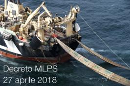 Decreto MLPS 27 aprile 2018