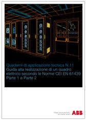 Guida realizzazione quadro elettrico secondo le Norme EN 61439-1 e 2