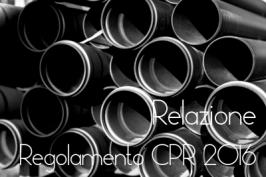 Relazione Commissione Applicazione Regolamento CPR
