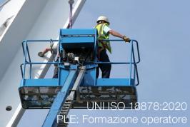 UNI ISO 18878:2020 | PLE: Formazione operatore
