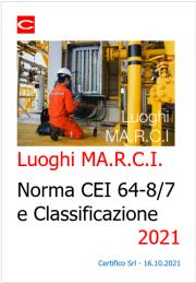 Luoghi MA.R.C.I.: Norma e Classificazione