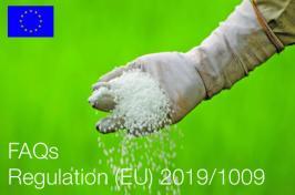 FAQs related to Regulation (EU) 2019/1009