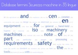 Database terminologica Sicurezza Macchine in 35 lingue