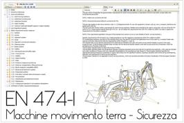 EN 474-1:2009 Sicurezza Macchine movimento terra