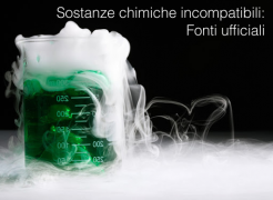 Sostanze chimiche incompatibili: Fonti ufficiali