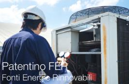 Patentino Fonti Energie Rinnovabili | FER