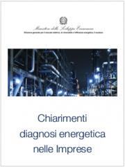 Chiarimenti MISE diagnosi energetiche nelle imprese