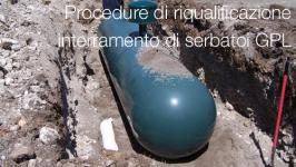 Procedure di riqualificazione per interramento di serbatoi GPL