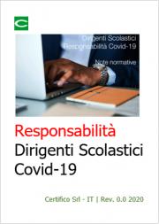 Responsabilità Dirigenti Scolastici Covid-19