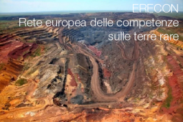 Terre rare: Rete europea delle competenze sulle terre rare (ERECON)
