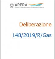 Deliberazione 148/2019/R/GAS