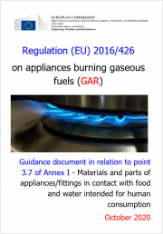 Regulation (EU) 2016/426: Guidance point 3.7 of Annex I (GAR)