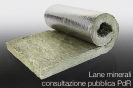 Lane minerali: consultazione pubblica PdR