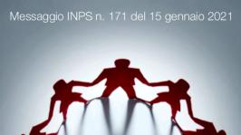 Messaggio INPS n. 171 del 15 gennaio 2021