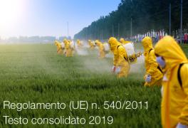 Regolamento di esecuzione (UE) n. 540/2011 | Testo consolidato 2019