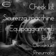 Check list Sicurezza macchine