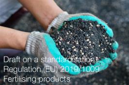 Draft on a standardisation Regulation (EU) 2019/1009   fertilising products