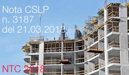 Prima applicazione NTC 2018 procedure autorizzative e qualificazione STC