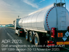 ADR 2023: Draft amendments to annexes A and B | WP 108th Sess. November 2020