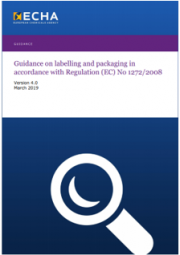 Guidance on Labelling and Packaging | Version 4.0 2019