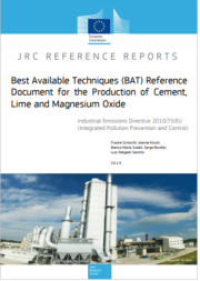 BREF Production of Cement, Lime and Magnesium Oxide