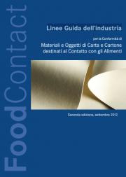 Linee Guida Conformità di Materiali/Oggetti Carta Cartone destinati Contatto Alimenti