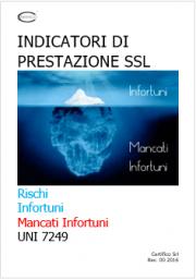 Rischi, Infortuni, Mancati Infortuni e Indicatori di Prestazione SSL - UNI 7249