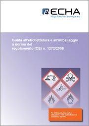 Guida etichettatura e imballaggio Regolamento CLP - 08.2011 ITA