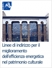 Linee indirizzo efficienza energetica patrimonio culturale
