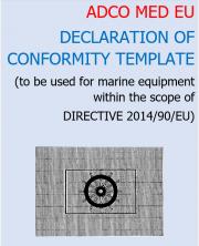 ADCO MED EU Declaration of conformity template