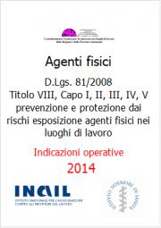 Indicazioni operative protezione agenti fisici luoghi di lavoro