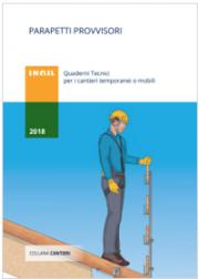 Parapetti provvisori - Quaderno Tecnico INAIL 2018